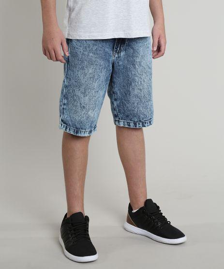 Bermuda-Jeans-Infantil-com-Bolsos-Azul-Medio-9549495-Azul_Medio_1