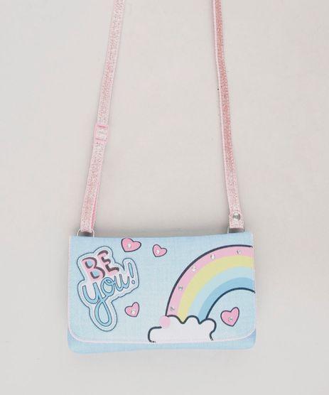 Bolsa-Infantil--Be-You---Arco-Iris-Azul-Claro-9664618-Azul_Claro_1