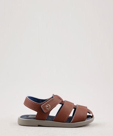 Sandalia-Papete-Infantil-Cartago-em-Tiras-Marrom-9696764-Marrom_1