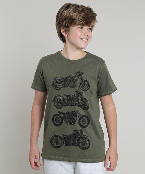 Camiseta-Infantil-Tal-Pai-Tal-Filho-Motocicletas-Manga-Curta--Verde-Militar-9542445-Verde_Militar_1