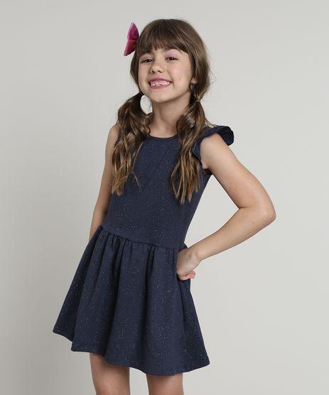 Vestido-Infantil-com-Glitter-e-Babado-Sem-Manga-Azul-Marinho-9612584-Azul_Marinho_1