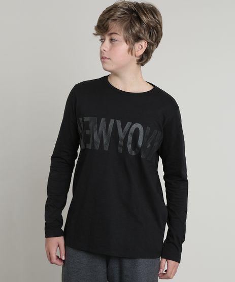 Camiseta-Infantil--New-York--Manga-Longa--Preta-9542457-Preto_1