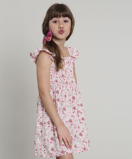 Vestido-Infantil-Estampado-Floral-com-Babado-Sem-Manga-Rosa-Claro-9617656-Rosa_Claro_1