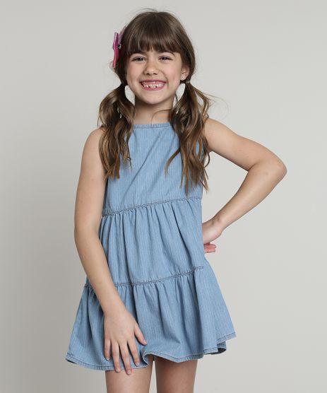 Vestido-Jeans-Infantil-Listrado-com-Babados-Sem-Manga-Azul-Claro-9749455-Azul_Claro_1