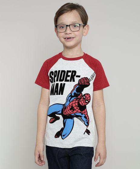 Camiseta-Infantil-Homem-Aranha-Raglan-Manga-Curta-Cinza-Mescla-Claro-9625125-Cinza_Mescla_Claro_1
