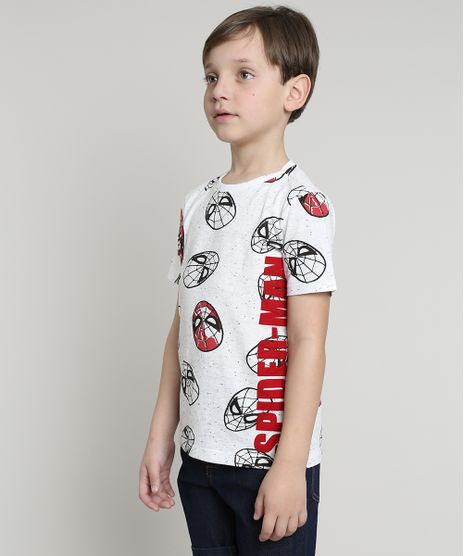 Camiseta-Infantil-Homem-Aranha-Estampada-Manga-Curta-Off-White-9629769-Off_White_1