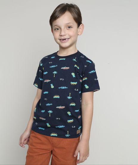 Camiseta-Infantil-Estampada-Carros-e-Abacaxis-Manga-Curta--Azul-Marinho-9660946-Azul_Marinho_1
