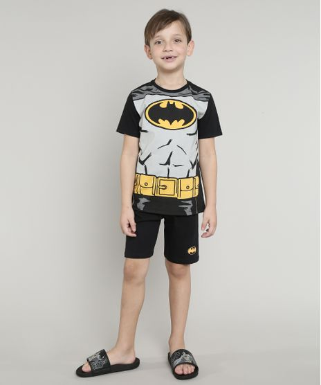 Pijama-Infantil-Batman-Manga-Curta-Preto-9632356-Preto_1