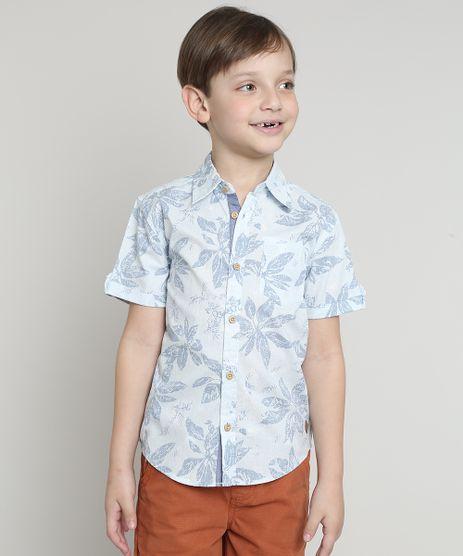 Camisa-Infantil-Estampada-Floral-com-Bolso-Manga-Curta-Azul-Claro-9545485-Azul_Claro_1