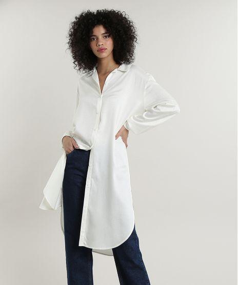Camisa-Feminina-Mindset-Longa-com-Fendas-Manga-Longa-Off-White-9719505-Off_White_1