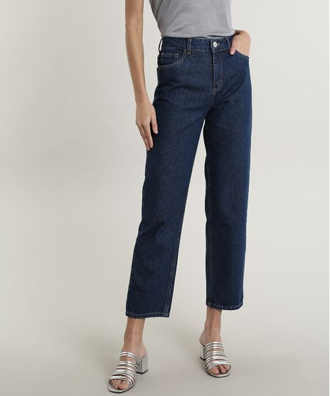 Calca-Jeans-Feminina-Mindset-Reta-Azul-Escuro-9797401-Azul_Escuro_1