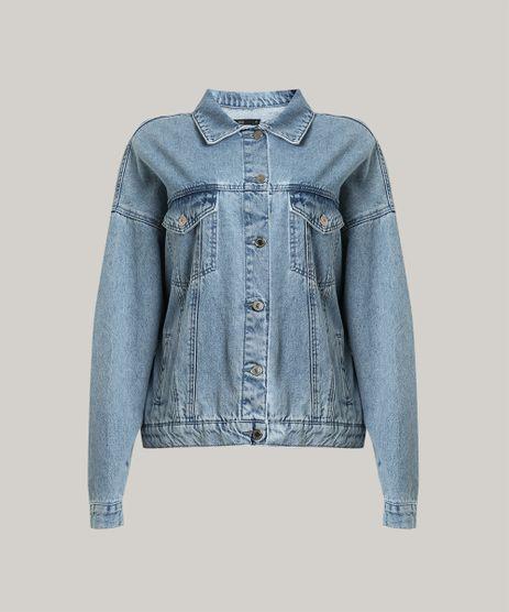 Jaqueta-Jeans-Feminina-Mindset-Oversized-com-Franjas-Metalicas-Azul-Claro-9758912-Azul_Claro_5