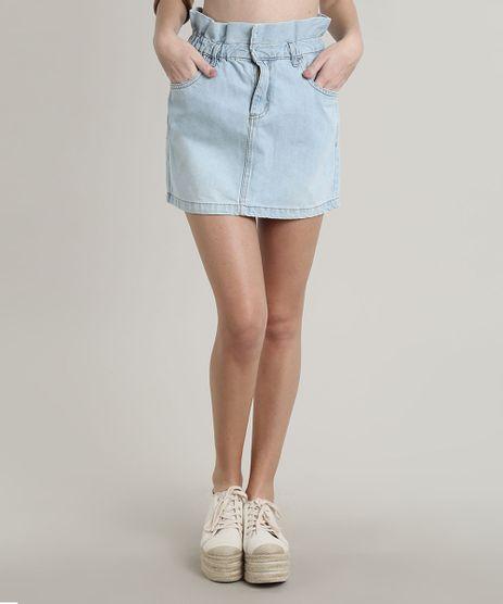Saia-Jeans-Feminina-Curta-Clochard-Azul-Claro-9662941-Azul_Claro_1