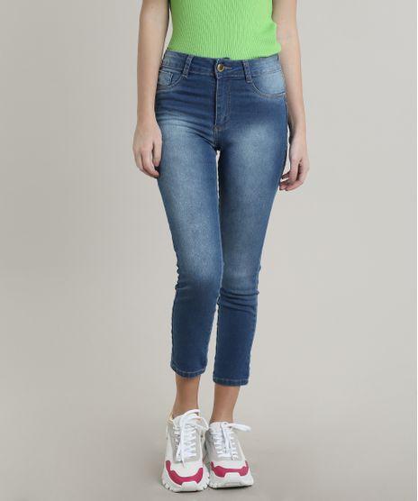 Calca-Jeans-Feminina-Sawary-Cropped-Pull-up-Azul-Claro-9746901-Azul_Claro_1