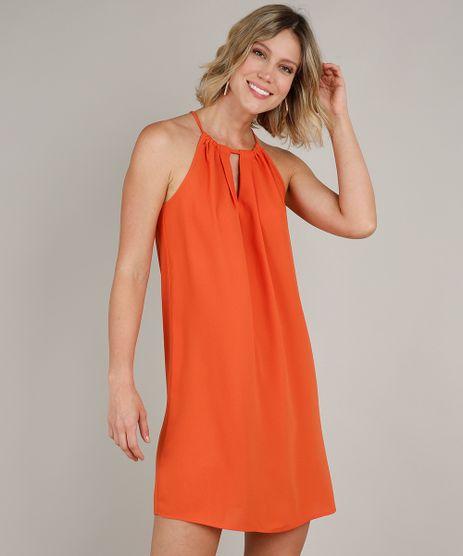 Vestido-Feminino-Curto-Halter-Neck-Laranja-9549808-Laranja_1