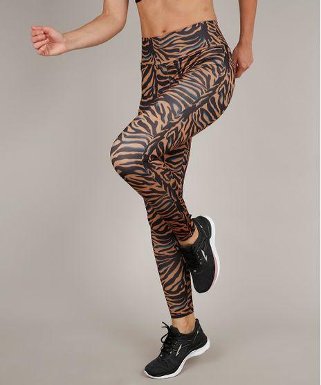 Calca-Legging-Feminina-Esportiva-Ace-Estampado-Animal-Print-com-Protecao-UV-50--Marrom-Claro-9603126-Marrom_Claro_1