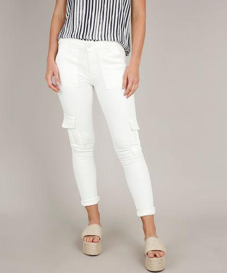 Calca-de-Sarja-Feminina-Skinny-Cargo-Off-White-9676276-Off_White_1