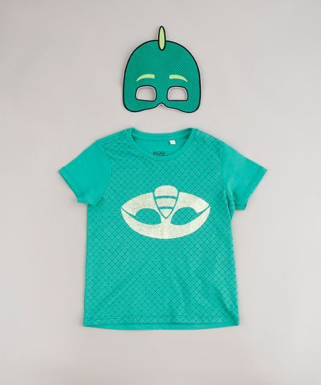 Camiseta-Infantil-Estampada-Pj-Masks-Lagartixo-Manga-Curta---Mascara-Verde-9618746-Verde_1
