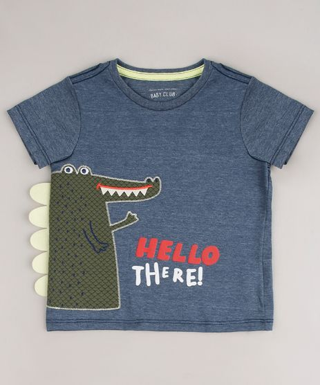 Camiseta-Infantil-Jacare-Manga-Curta-Cinza-Mescla-Escuro-9660203-Cinza_Mescla_Escuro_1