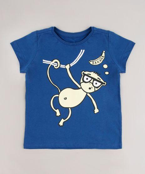 Camiseta-Infantil-Macaco-Manga-Curta-Azul-Marinho-9664950-Azul_Marinho_1