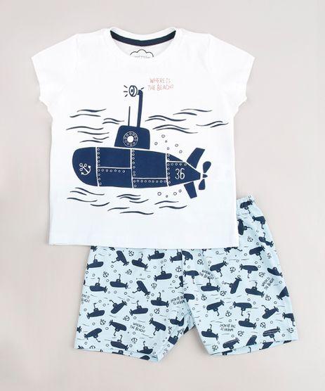 Pijama-Infantil-Submarino-Manga-Curta-Off-White-9633469-Off_White_1