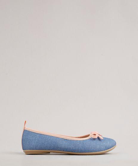 Sapatilha-Jeans-Infantil-Molekinha-Bico-Redondo-com-Laco-Azul-Claro-9722586-Azul_Claro_1
