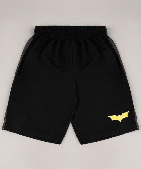 Bermuda-Infantil-Esportiva-Batman-com-Faixas-Laterais-Preta-9365293-Preto_1