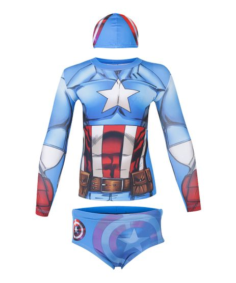 Conjunto-de-Camiseta-e-Sunga-Capitao-America-com-Protecao-UV-50-Azul-8549766-Azul_1