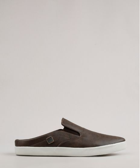 Tenis-Slip-On-Mule-Masculino-Oneself-Marrom-9685911-Marrom_1