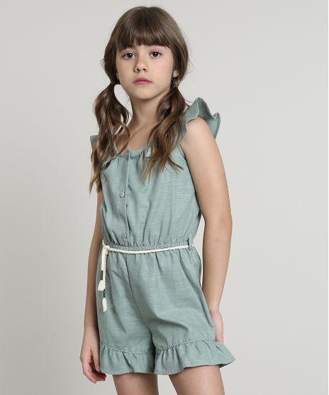 Macaquinho-Infantil-com-Babado-e-Cordao-Sem-Manga-Verde-9662521-Verde_1