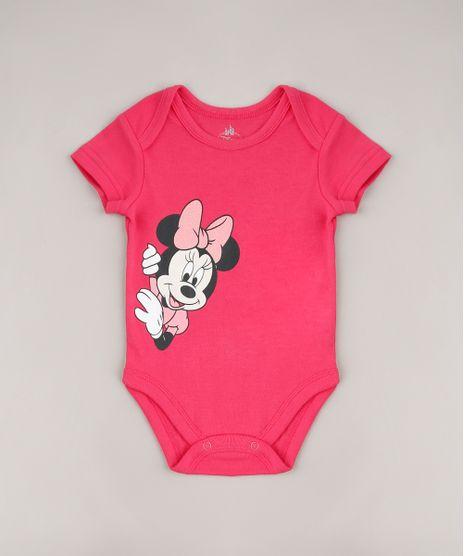 Body-Infantil-Minnie-Manga-Curta-Rosa-Escuro-9592716-Rosa_Escuro_1