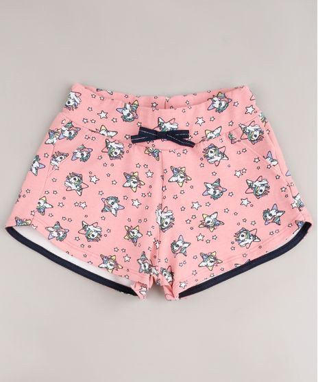 Short-Infantil-em-Moletom-My-Little-Poney-Estampada-com-Laco-Rosa-9675153-Rosa_1