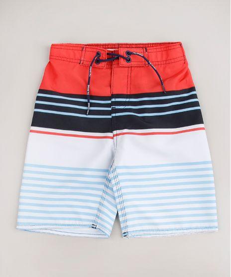 Bermuda-Surf-Infantil-Listrada-com-Cordao-Laranja-9653047-Laranja_1