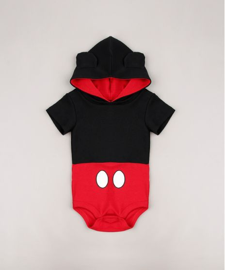 Body-Infantil-Mickey-com-Capuz-e-Orelhinhas-Manga-Curta-Preto-9678395-Preto_1