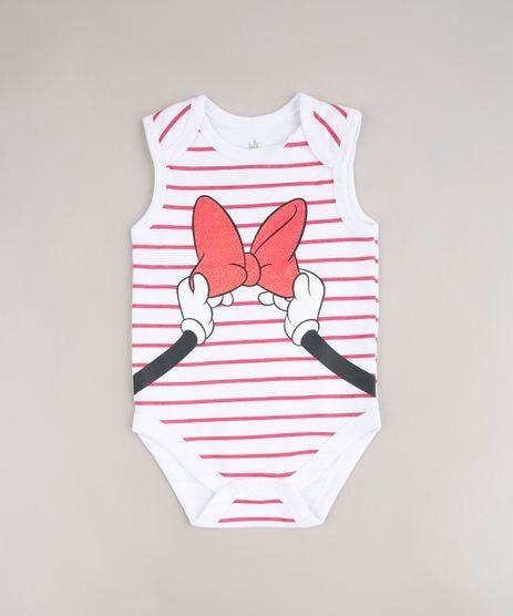 Body-Infantil-Minnie-Listrado-Sem-Manga-Decote-Redondo-Branco-9592722-Branco_1