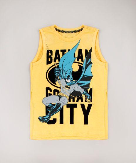 Regata-Infantil-Batman--Mostarda-9625115-Mostarda_1