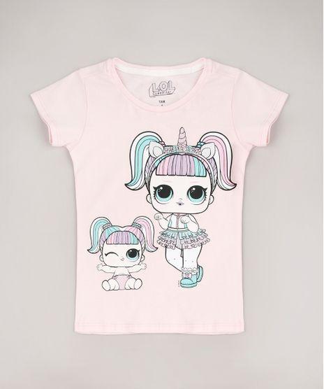 Blusa-Infantil-Lol-Surprise-com-Brilho-Manga-Curta-Rosa-Claro-9773596-Rosa_Claro_1
