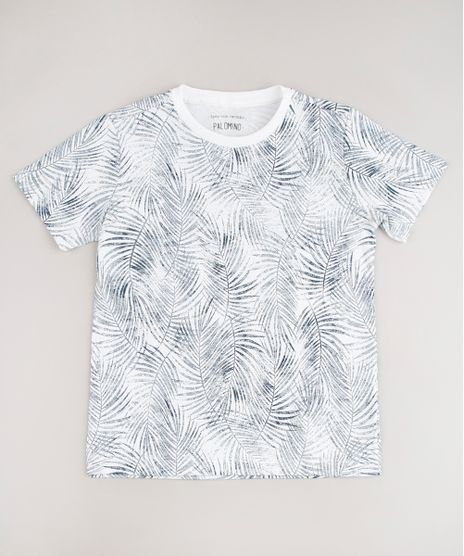 Camiseta-Infantil-Estampada-de-Folhagem-Manga-Curta-Off-White-9662196-Off_White_1