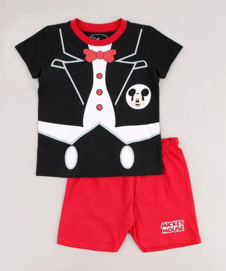 Pijama-Infantil-Mickey-Manga-Curta-Preto-9633472-Preto_1