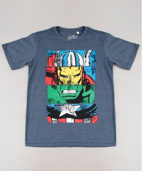Camiseta-Infantil-Os-Vingadores-Manga-Curta-Cinza-Mescla-Escuro-9694753-Cinza_Mescla_Escuro_1
