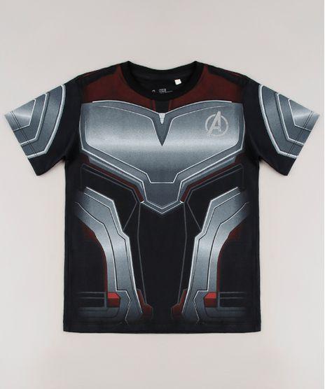Camiseta-Infantil-Homem-Formiga-Estampada-Manga-Curta--Preta-9680519-Preto_1