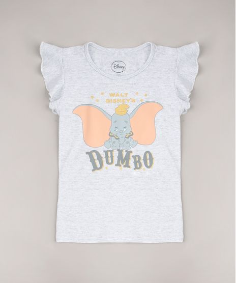 Blusa-Infantil-Dumbo-com-Babado-Manga-Curta-Cinza-Mescla-Claro-9657881-Cinza_Mescla_Claro_1