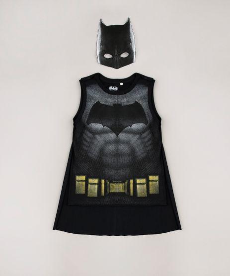 Regata-Infantil-Batman-com-Capa---Mascara-Preta-9680528-Preto_1