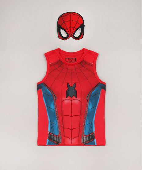 Regata-Infantil-Homem-Aranha---Mascara-Vermelha-9680529-Vermelho_1