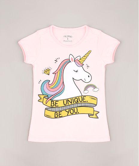 Blusa-Infantil-Unicornio-Manga-Curta-Rosa-Claro-9107643-Rosa_Claro_1