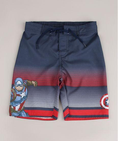 Bermuda-Surf-Infantil-Capitao-America-com-Cordao--Azul-Marinho-9653050-Azul_Marinho_1