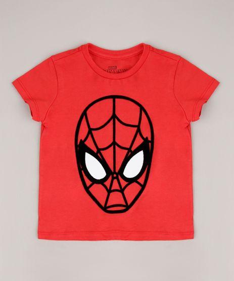 Camiseta-Infantil-Homem-Aranha-Manga-Curta-Vermelho-9715166-Vermelho_1