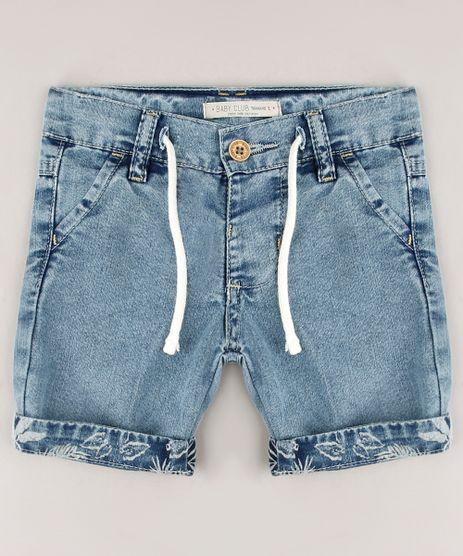 Bermuda-Jeans-Infantil-com-Cordao-Barra-Dobrada-Azul-Medio-9635838-Azul_Medio_1