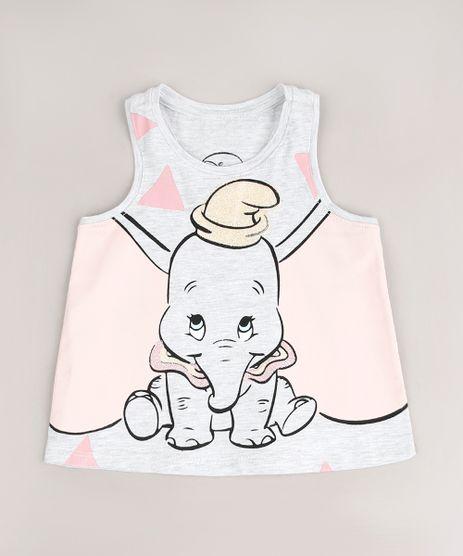Regata-Infantil-Dumbo-com-Glitter-Cinza-Mescla-Claro-9669315-Cinza_Mescla_Claro_1