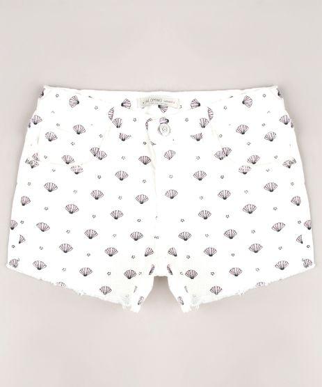 Short-de-Sarja-Infantil-com-Estampado-de-Conchas-Barra-Desfiada-Off-White-9675351-Off_White_1
